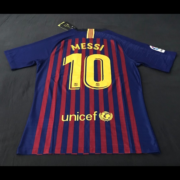 5d17437d2c2 FC Barcelona VaporKnit Jersey Match Player Version
